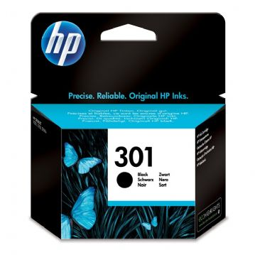 Genuine HP 301 Black Ink Cartridge CH561EE